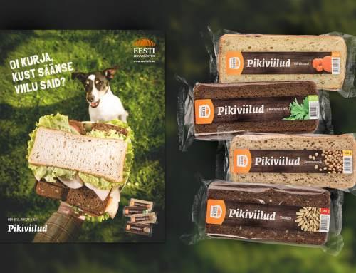 Pikiviilud – tootepakend ja kampaania pilt