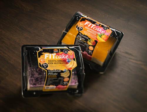 Fitcake pakendikujundus
